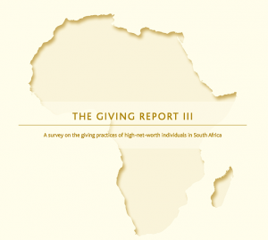 THE GIVING REPORT III