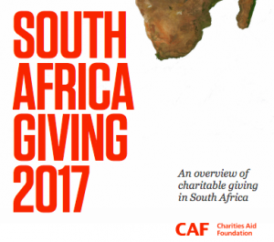 South Africa Giving 2017: An overview of charitable giving in South Africa