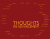 100 Thoughts on Advancement