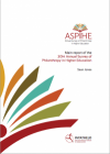 2014 Annual Survey of Philanthropy in Higher Education (ASPIHE) in South Africa.