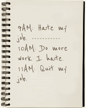 Why do NPO employees quit?